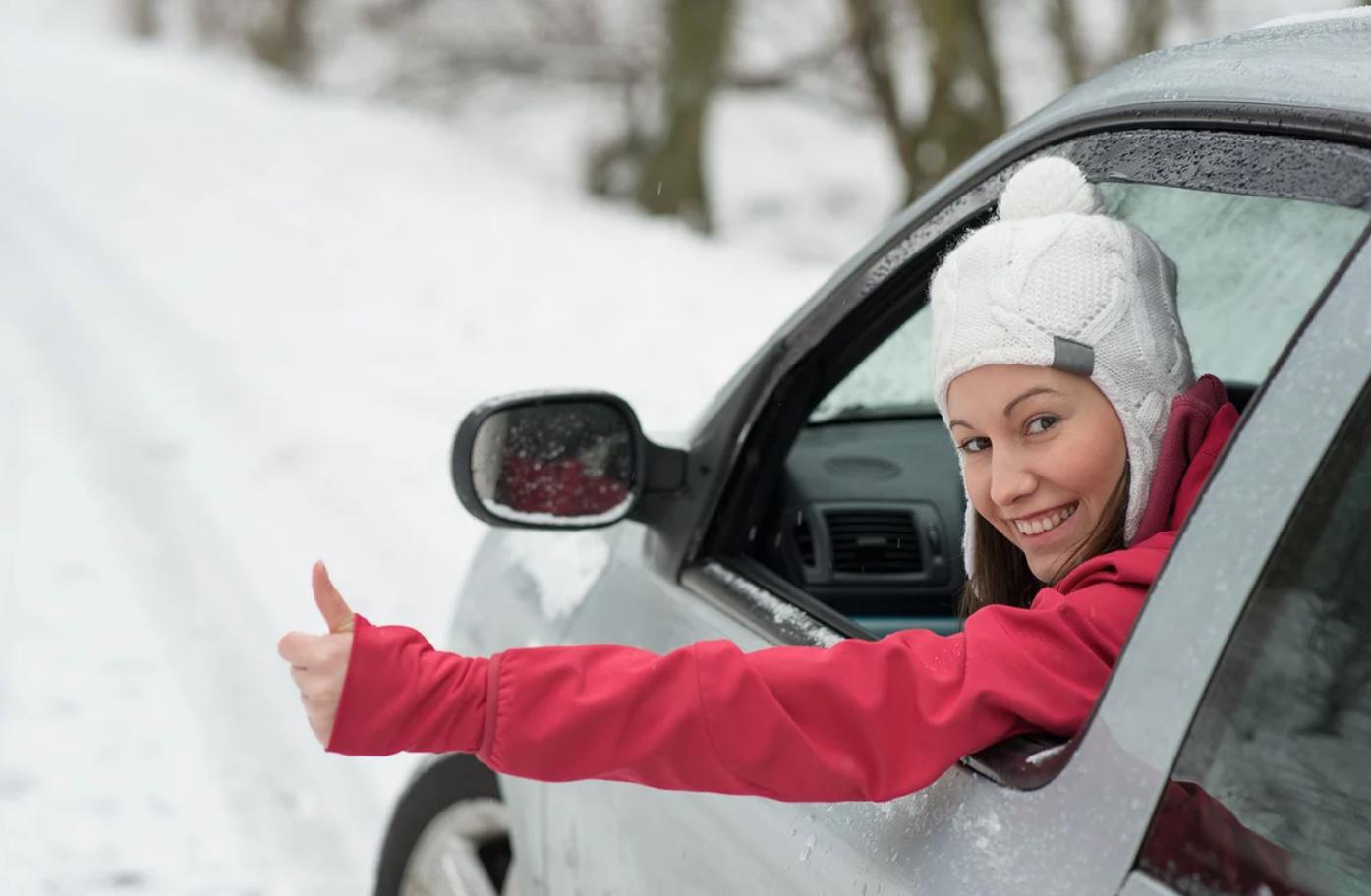 Новичкам. Зимние особенности вождения